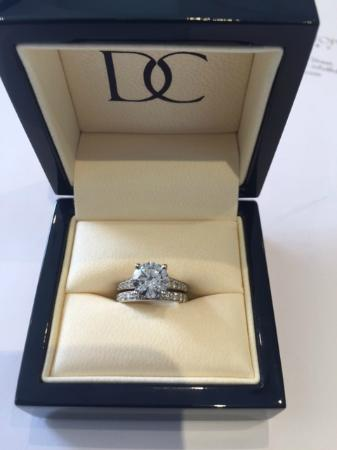 DC Jewellery Engagement Ring Picture of Hatton Garden London