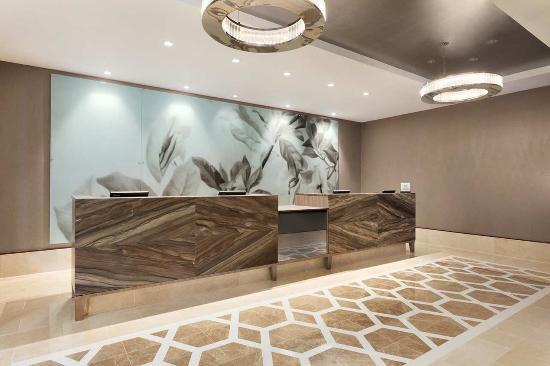 Hilton Philadelphia City Avenue: New Lobby Reception Area