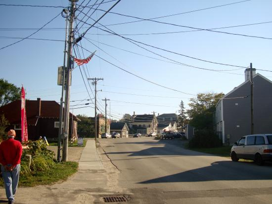 Vinalhaven, ME : Main St of Vinal Haven, Maine