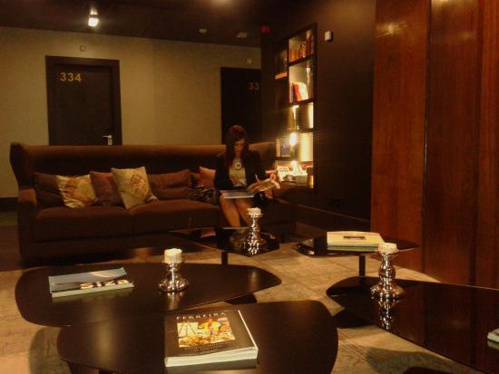 Evidencia Belverde Atitude Hotel: Hall de leitura nos pisos de quartos