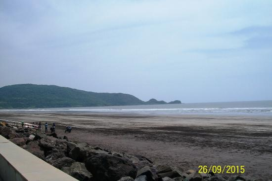 Shrivardhan, Indien: Beach View