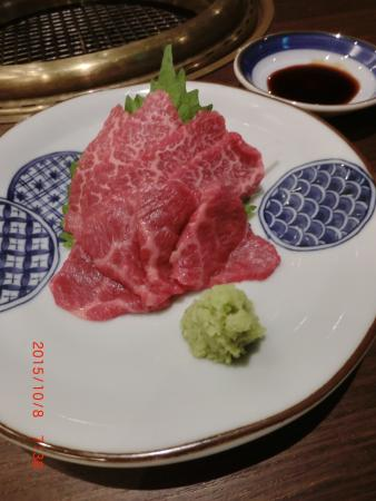 Awesome Japanese Wagyu beef, simple environment, quiet n peaceful😘😘👨❤️💋👨