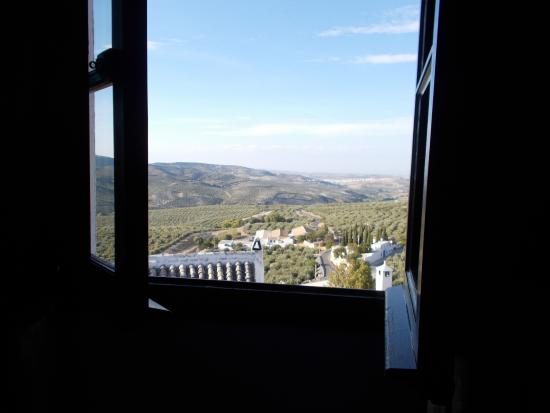 Hotel Rural Zuhayra : View from our second floor bedroom