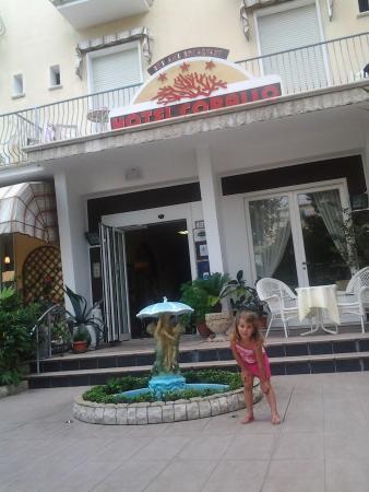 Hotel Corallo garni : ingresso hotel