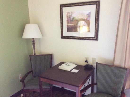 Hampton Inn Buckhannon: in the room