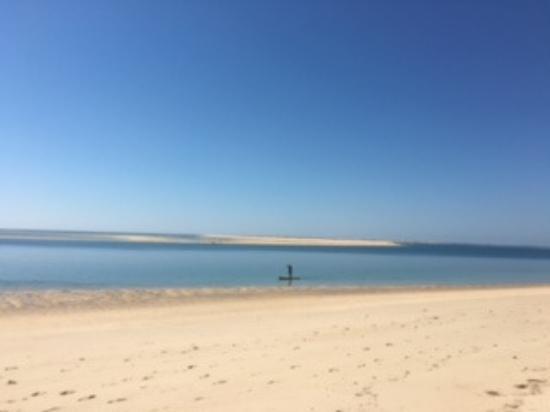 Parque de campismo Orbitur Ilha de Armona: Praia da Ilha de Armona