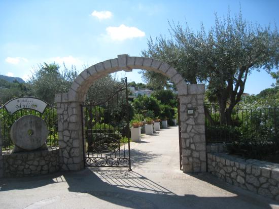 Entrance to Al Mulino