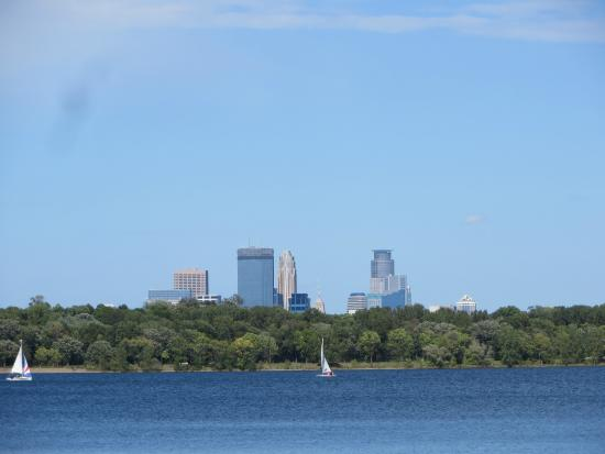Lake Harriet on a late summer afternoon