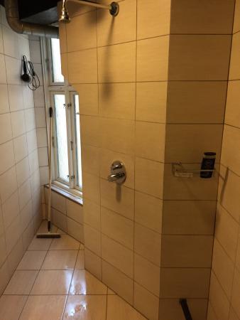 Hotel Windsor: The shower