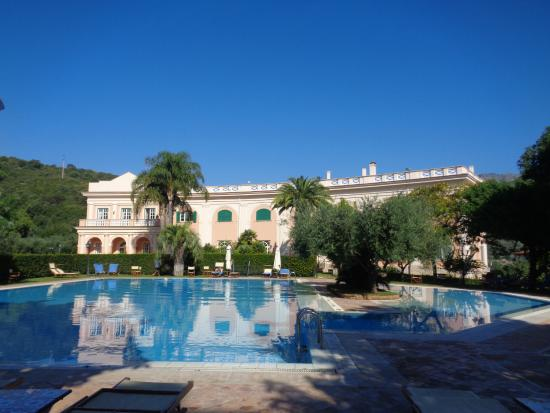 Veduta Dalla Piscina Picture Of Villa Irlanda Grand Hotel Gaeta Tripadvisor