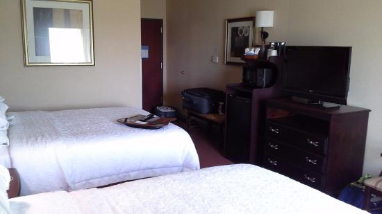 Hampton Inn & Suites Austin South/Buda : 2 queen beds