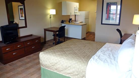 Extended Stay America - Houston - Katy Frwy - Beltway 8: Studio Suite - 1 Queen Bed