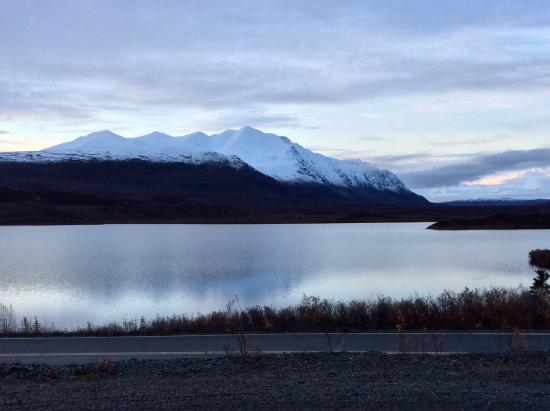 Paxson, AK: From dining room of Tangle River Inn