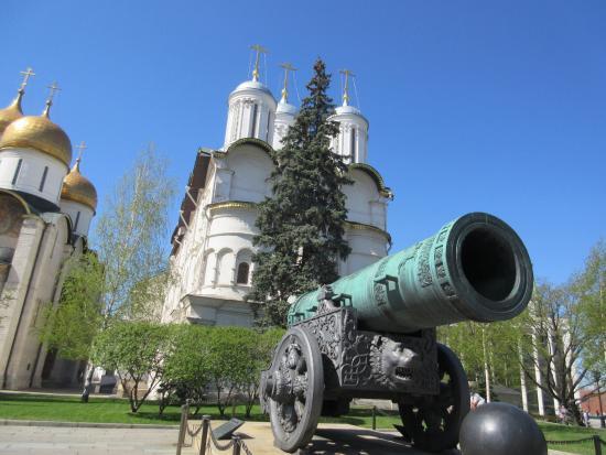 Tsar Bell and Tsar Cannon