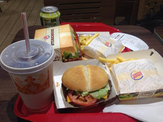 un menu qui rempli photo de burger king lyon confluence lyon tripadvisor. Black Bedroom Furniture Sets. Home Design Ideas