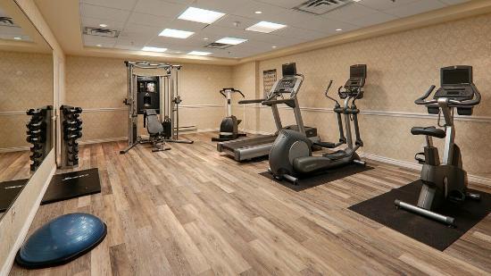Hotel MTL EXPRESS Aéroport de Montréal : Centre de conditionnement physique / Gym