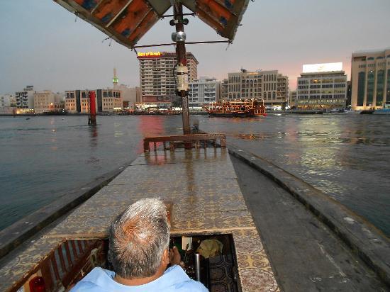 Landmark Plaza Baniyas Hotel: Возле отеля катались на лодке по Персидскому заливу