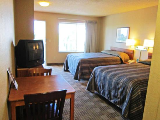 Crossland Economy Studios - Seattle - Kent - Des Moines: Studio Suite - 2 Double Beds