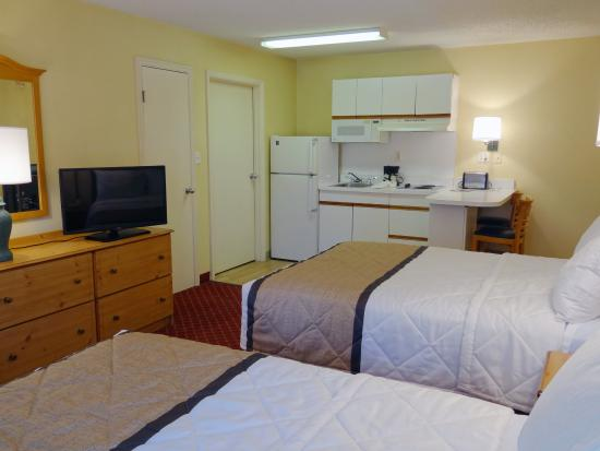 Extended Stay America - Raleigh - Crabtree Valley: Studio Suite - 2 Double Beds