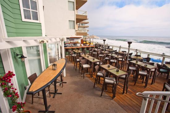 "Pacific Edge Hotel on Laguna Beach: Pacific Edge Hotel ""Deck Restaurant"""