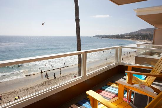 Pacific Edge Hotel on Laguna Beach: Beachfront Balcony