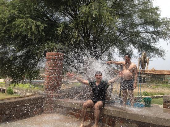 bath by the well picture of vanaashrya tented camp alwar rh tripadvisor com au