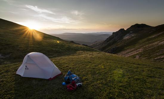 Tomintoul, UK: Wake up for sunrise in a true mountain wilderness.