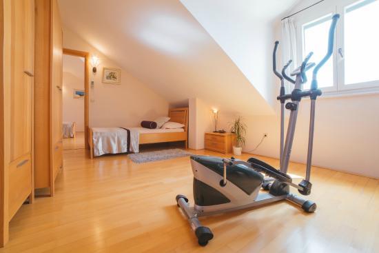Hotel Park Hvar: Superior top story suite