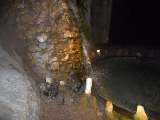 Marienglashöhle Friedrichroda: Wasserfall