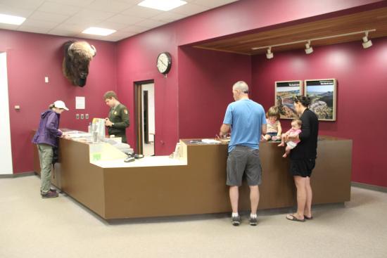 visitor center South Unit TRNP Sep 2015 Picture of South Unit