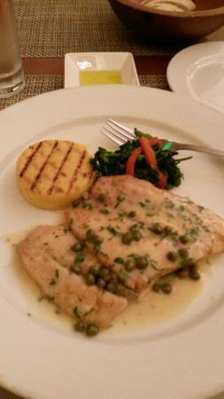 Gianni's Italian Bistro: Fish of the day!
