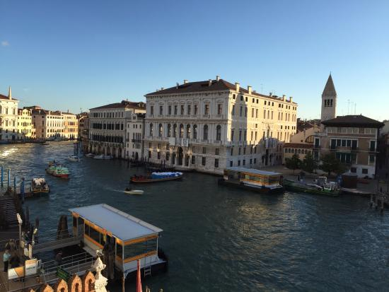 View from Hotel Palazzo Stern