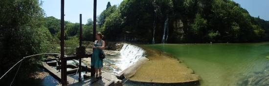 Bellegarde sur Valserine, França: au niveau du barrage