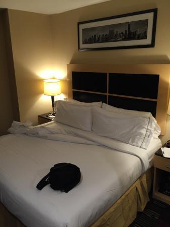 โรงแรมฮอลิเดย์อินน์เอ็กซ์เพลส นิวยอร์คซิตี้ วอลล์สตรีท: Hotelzimmer