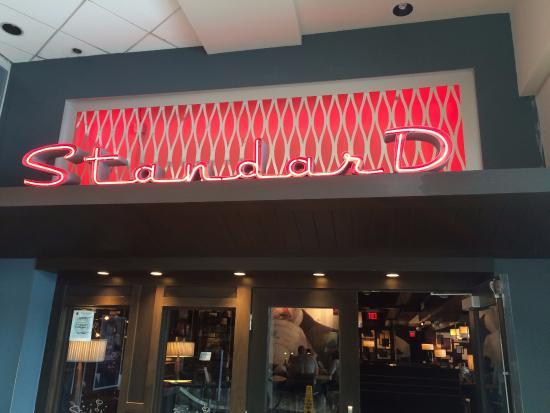 The Standard Restaurant Lounge Mall Entrance