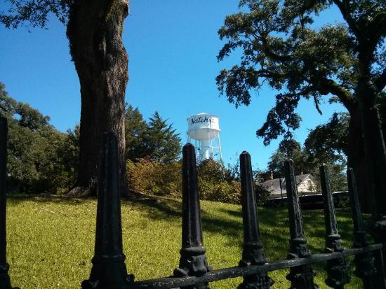 Natchez, Миссисипи: View from Stanton Hall