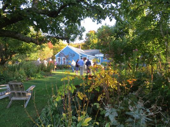Brandon, VT: View from the garden