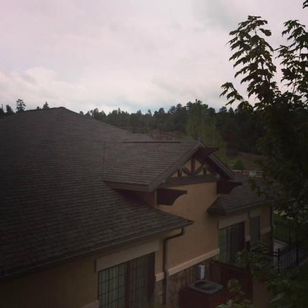 Hampton Inn & Suites Show Low-Pinetop: Dark and Stormy Night