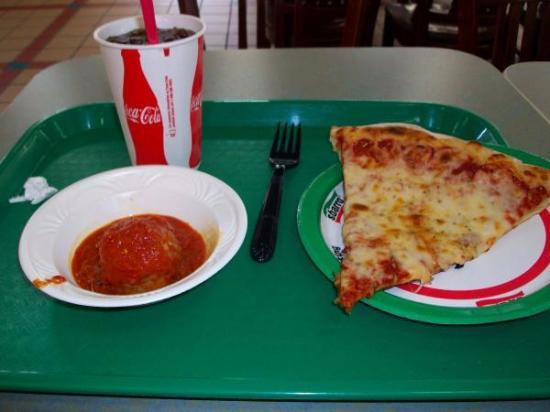 Pizza, Meatball, Coke, All At Tamarack