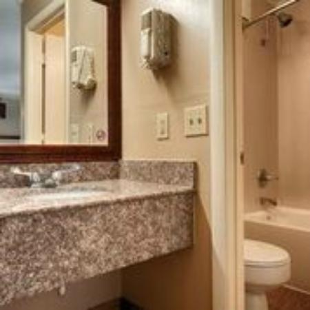 BEST WESTERN Franklin Inn: Bathroom Vanity area