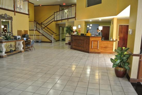 Holiday Inn Express Dahlgren: Reception