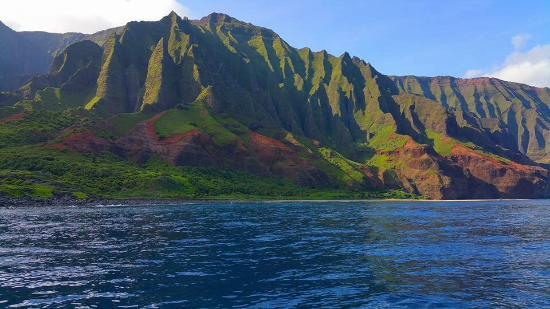 Kilauea, Hawaï: Unreal, classic Na Pali Coast