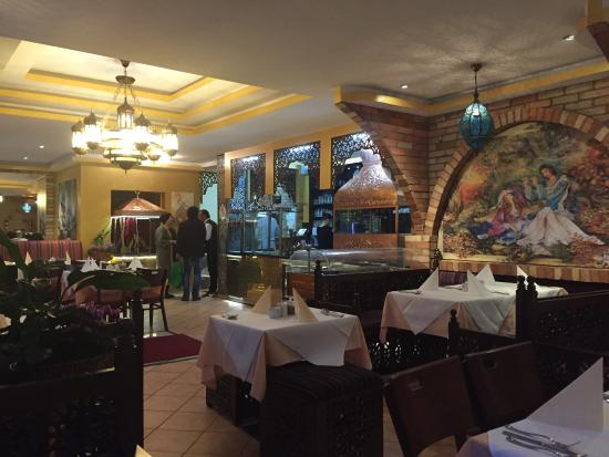 inside picture of restaurant sufi berlin tripadvisor. Black Bedroom Furniture Sets. Home Design Ideas