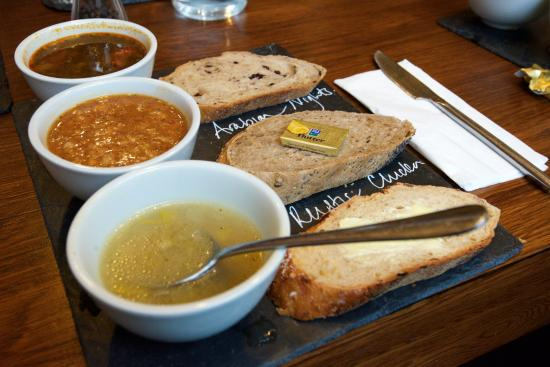 Union of Genius: Try the medley of soups