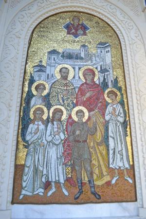 Livadiya: Икона царской семьи