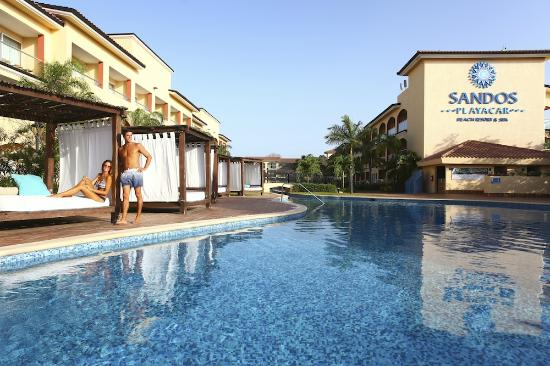 Sandos Playacar Beach Resort: Select Club Adults only pool