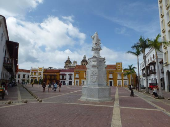 Arquitectura colonial picture of walled city of - Arquitectura cartagena ...