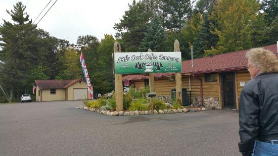 Woodruff, WI: Little Creek Coffee Co.