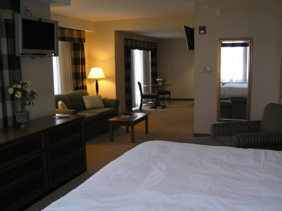 Holiday Inn Express East End: Deluxe Room