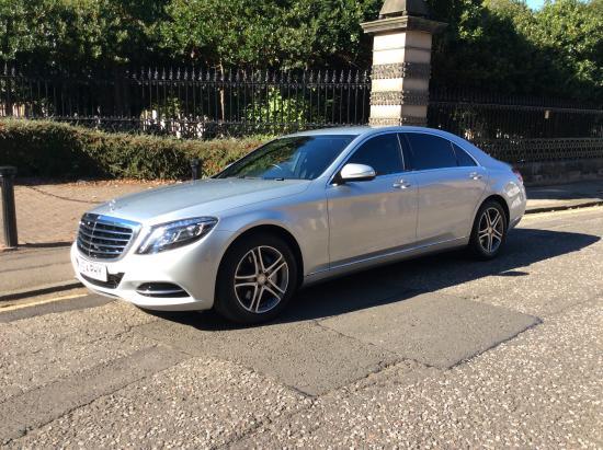 Butler's Chauffeur Drive: New shape Sclass Mercedes
